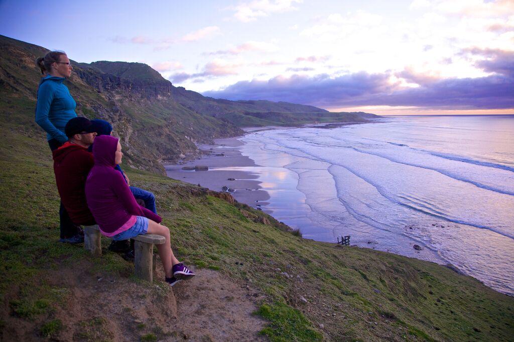 Te Hapu solnedgång