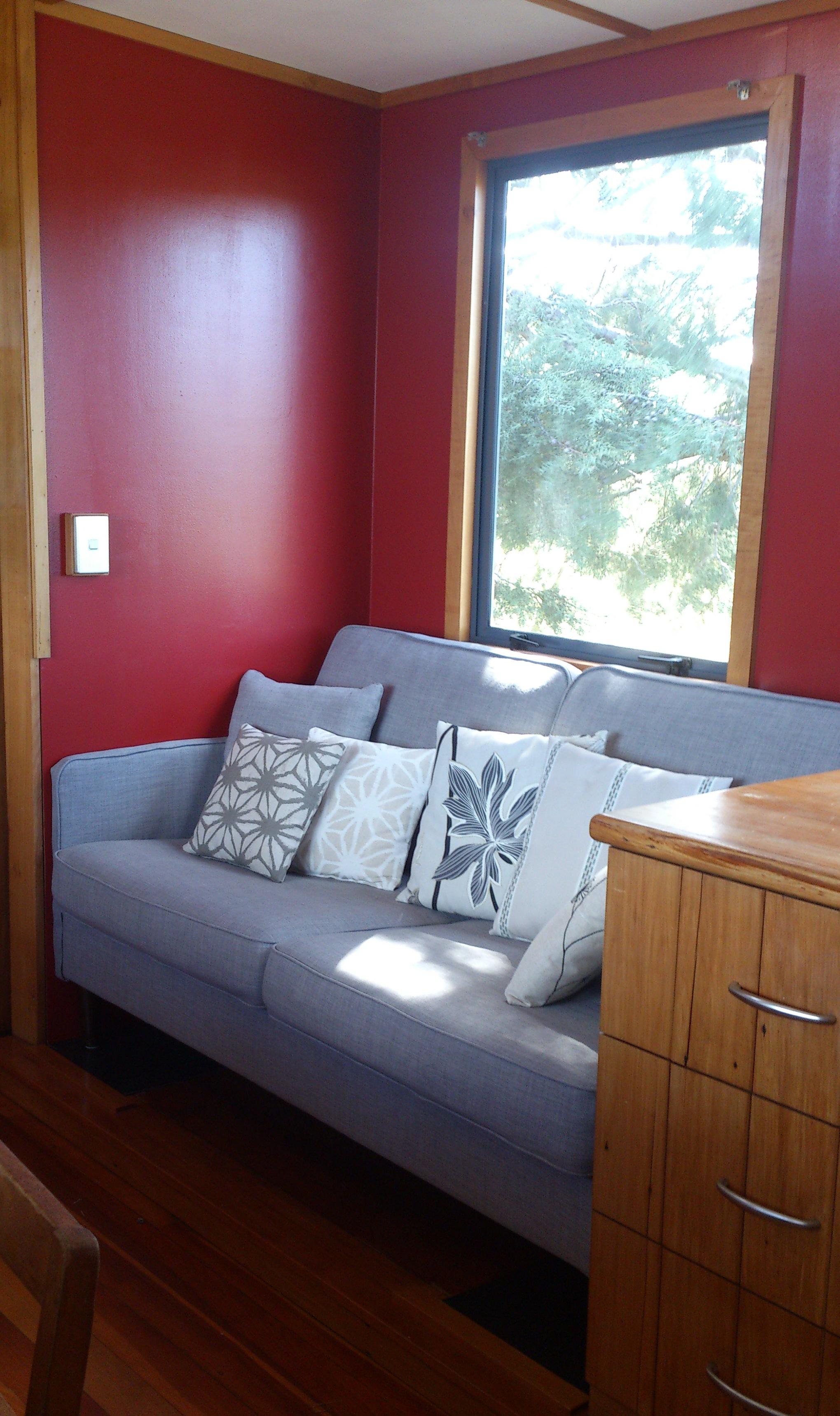 Housetruck soffa
